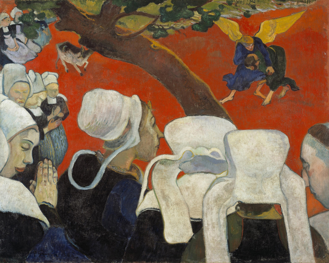 Paul Gauguin, Vision after the Sermon