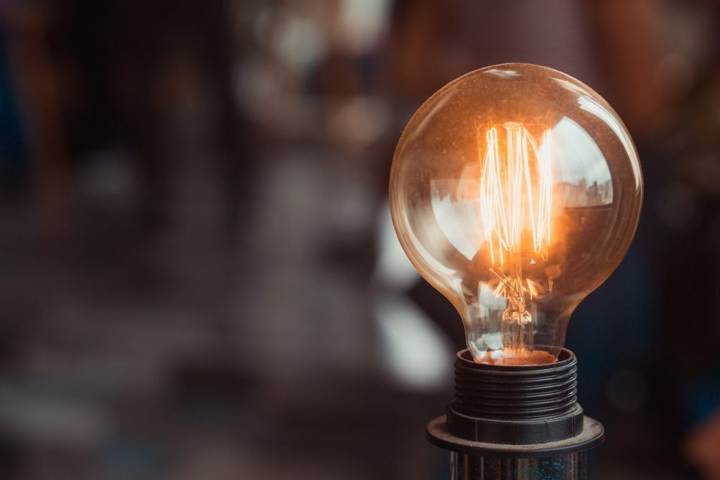 Selective Focus Photography of Turned-on Light Bulb