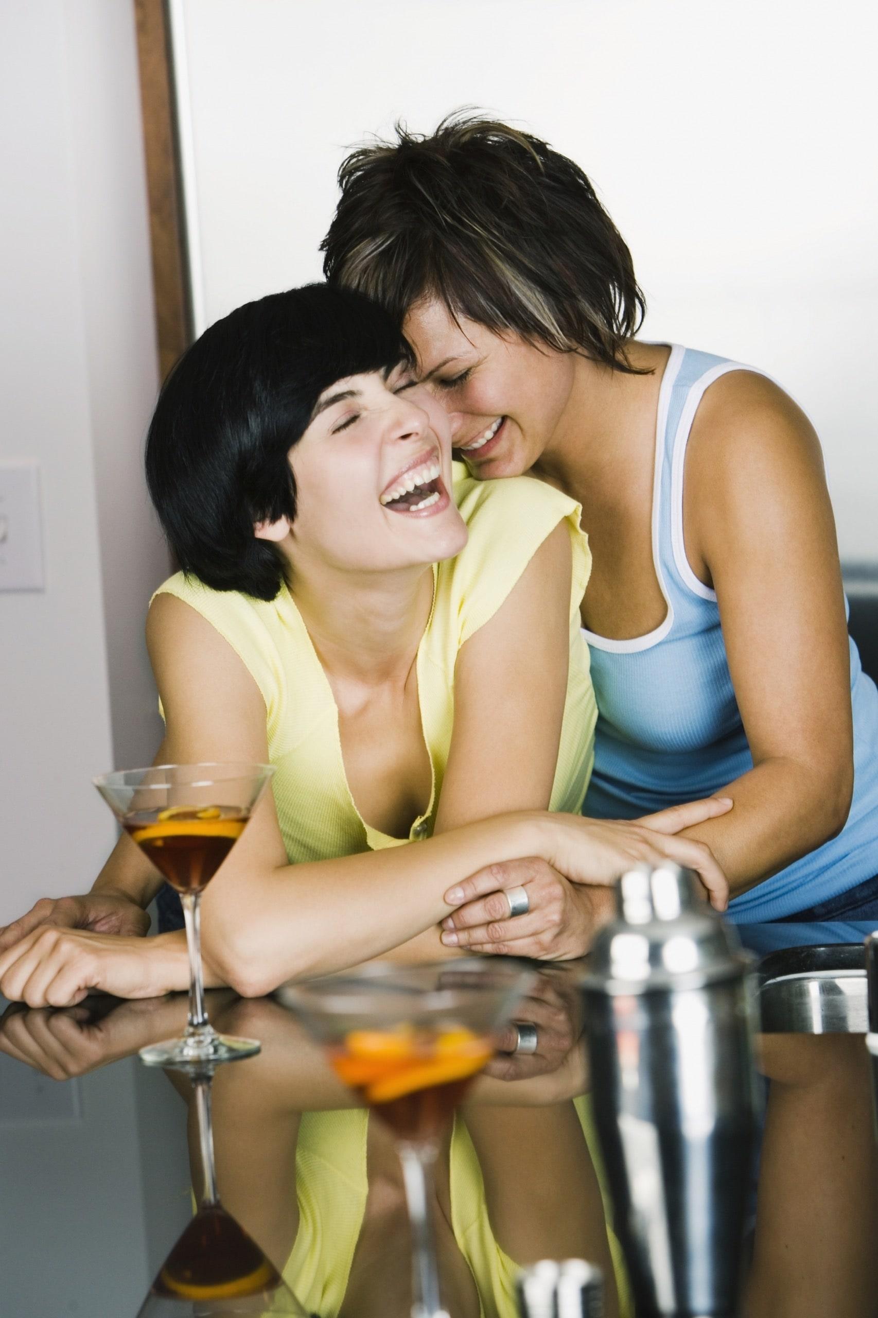 Lovely lesbian couple